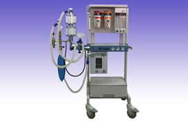 RS0238 Anesthesia machine with double vaporizer and ventilator SM-IIIB3