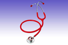 RS0290 Stainless steel double stethoscope
