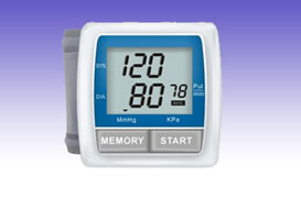 RS0299 Auto Wrist Blood Pressure Monitor