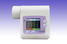 RS0322 USB Spirometer Model SP-10